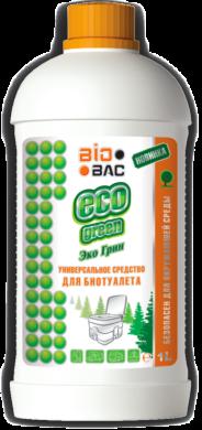 ECO green унив. средство для портативного туалета