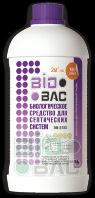 BIOBAC биологическое средство для септиков